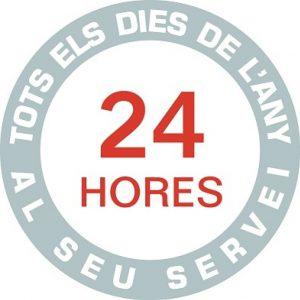 Tenim un valor afegit, el nostre servei és permanent les 24 hores els 365 dies de l'any.